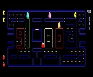 Игра Pacman Google